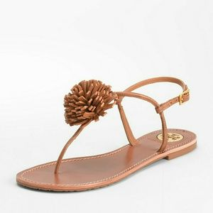 Tory Burch cute leather Cherilyn Sandals